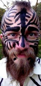 tom as zebra.
