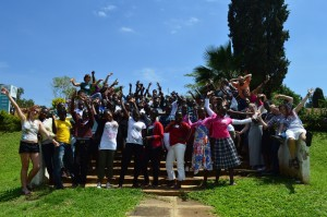 3rd Maseno Maths Camp group photo (silly version).